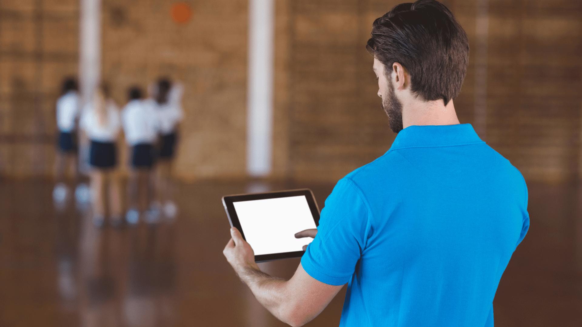Digitales Fitnessstudio